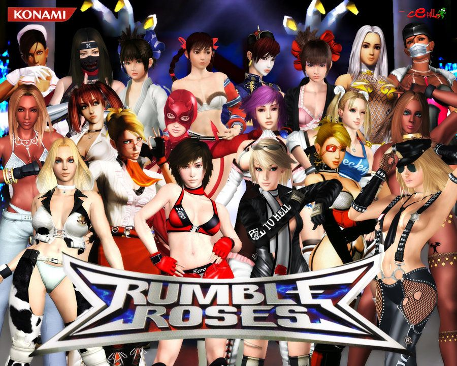 Image result for rumble roses