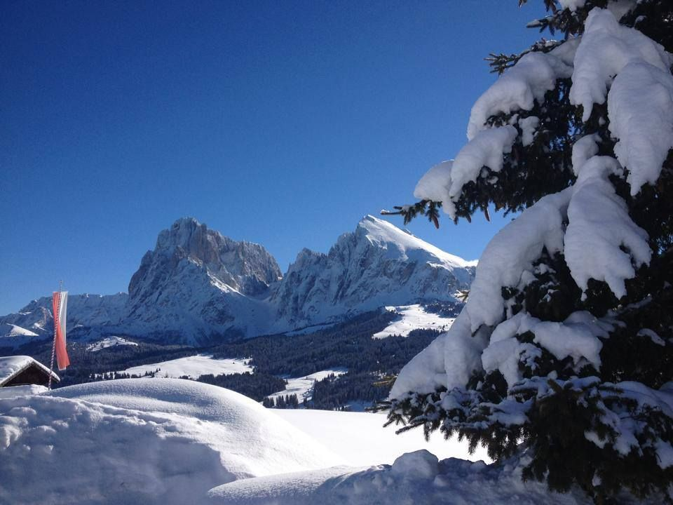 #HOTELS #SWD #GREEN2STAY Tirler - Dolomites Living Hotel, Seiser Alm / Alpe di Siusi Che sentimento provate a guardare questa foto?  Welches Gefühl verspürt ihr dieses Bild zu betrachten?  www.hotel-tirler.com See Translation