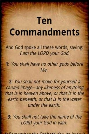 The Ten Commandments Wallpaper Free Hd Backgrounds Images Pictures
