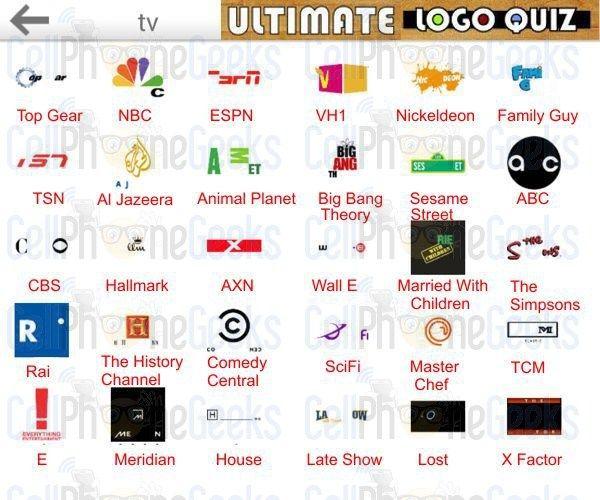 logo quiz tv noir