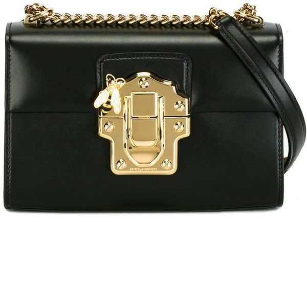 0e1cf3b7162 Dolce & Gabbana Lucia shoulder bag ($1,920) ❤ liked on Polyvore featuring  bags,