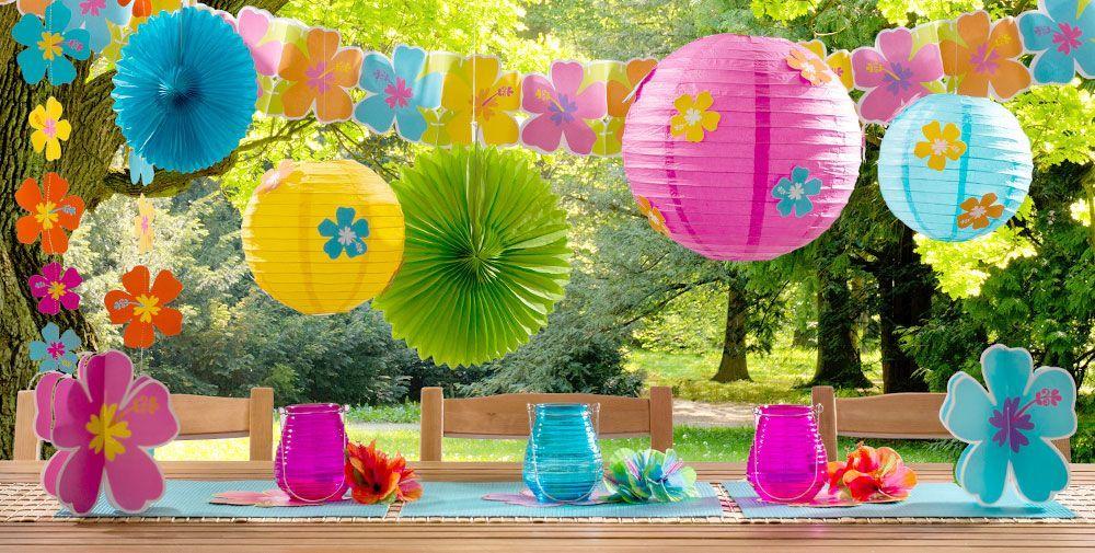 16 Yellow Round Paper Lantern Even Ribbing Hanging Decoration