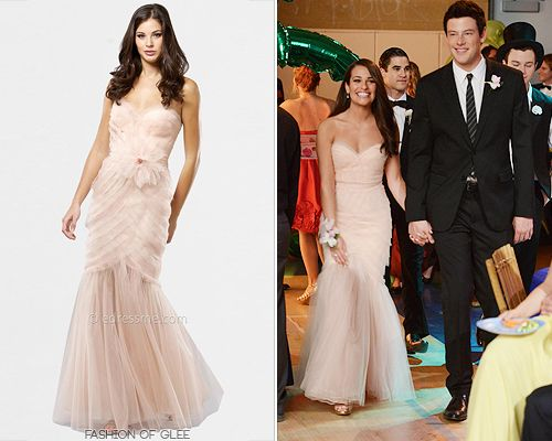 Prom dress unique on glee