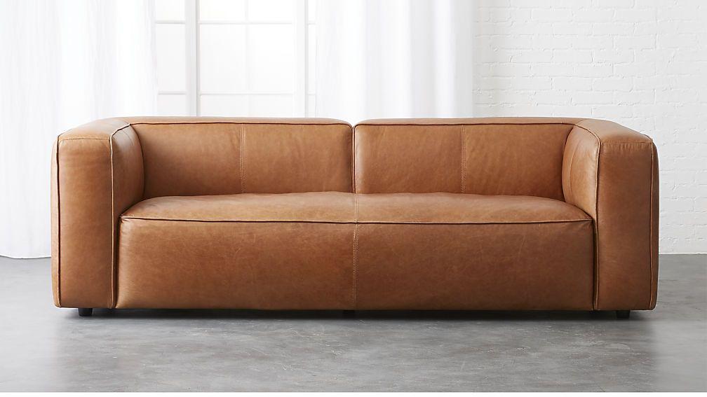 White Leather Sofa lenyx leather sofa
