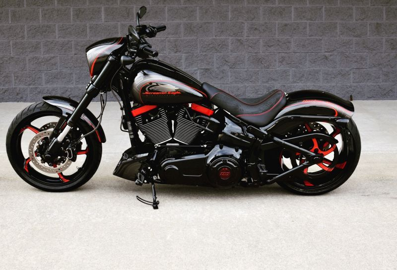 Harley Davidson Softail Breakout By The Bike Exchange In 2020