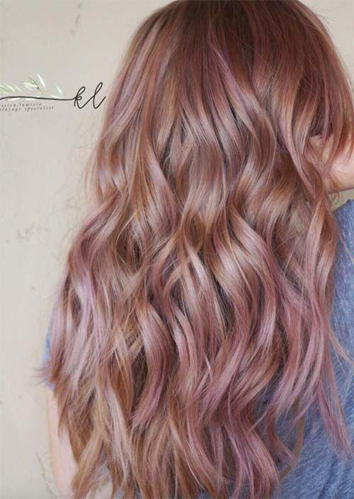 Balayage Hair Trend: 51 Balayage Haarfarben & Tipps Balayage Highlights zu bekommen - Neueste frisuren | bob frisuren | frisuren 2018 - neueste frisuren 2018 - haar modelle 2018