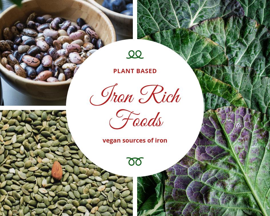 Iron Rich Foods [ vegan sources of iron ] Vegan iron