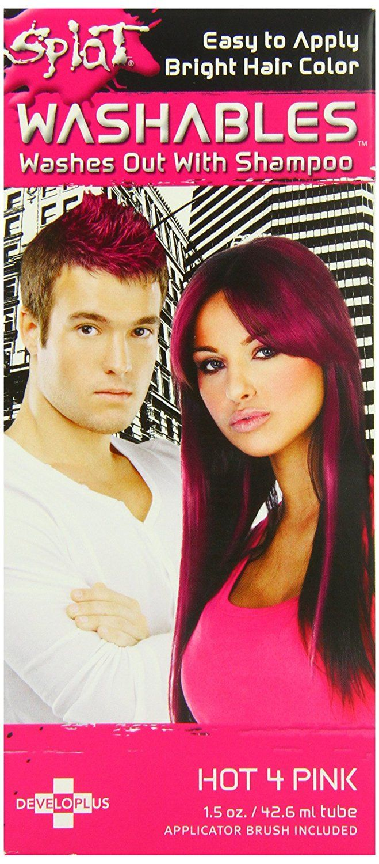 Splat Hair Color Bright Hot 4 Pink 1 5oz 42 6ml Review More Details Here Hair Color Splat Hair Color Hair Color Splat Hair Dye