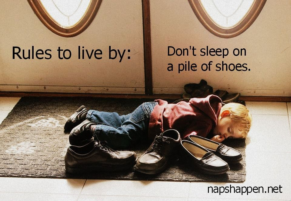 You knowjust as a rule of thumb. | Parenting Humor naps #parenting #humor #naps