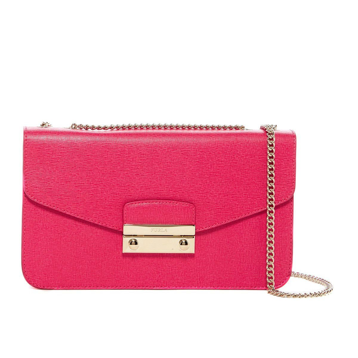 Womens Pouch On Sale, Pink Quartz, Leather, 2017, one size Furla