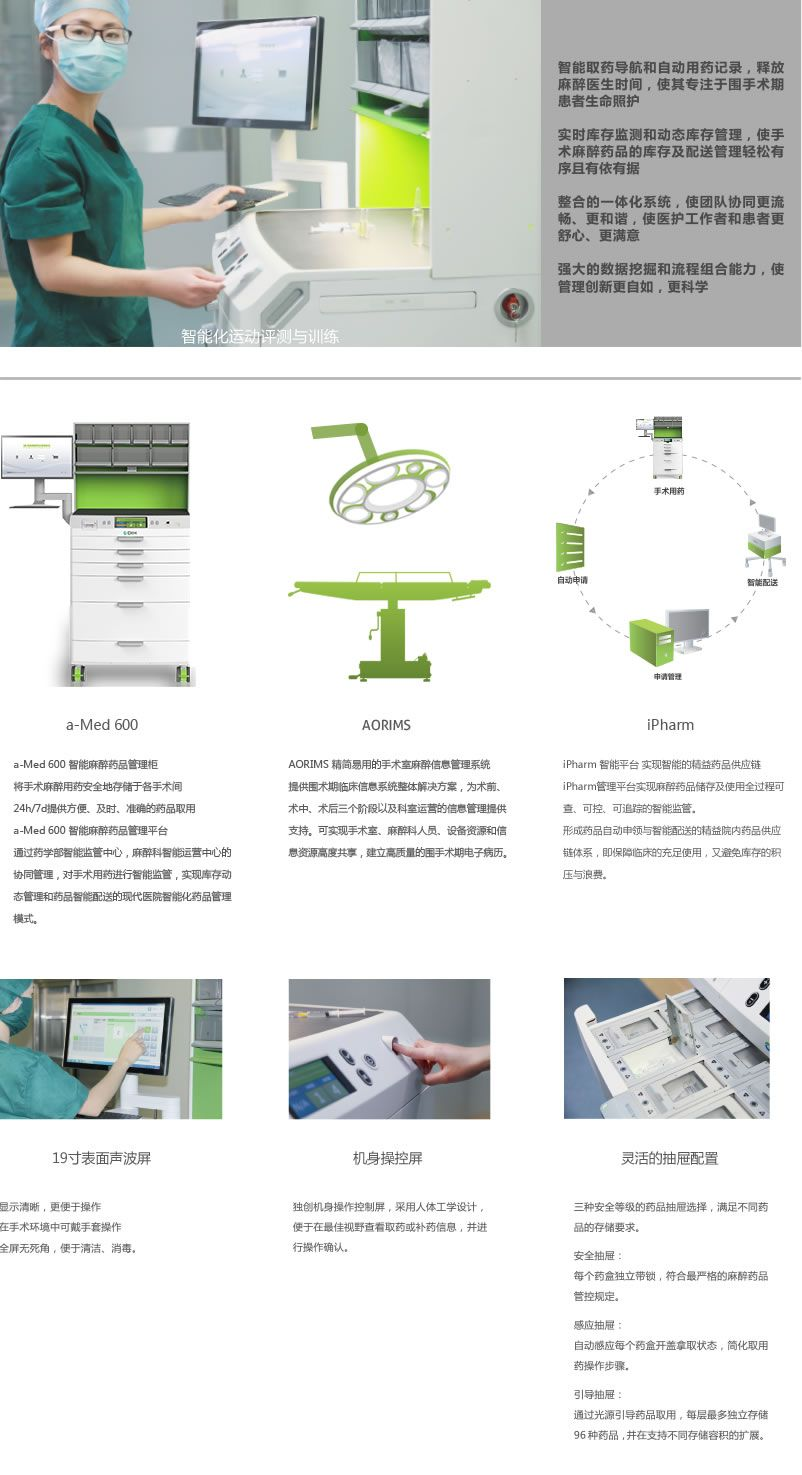 Operating Room Design: Anaesthesia Pharmacy System Designed For The Operating