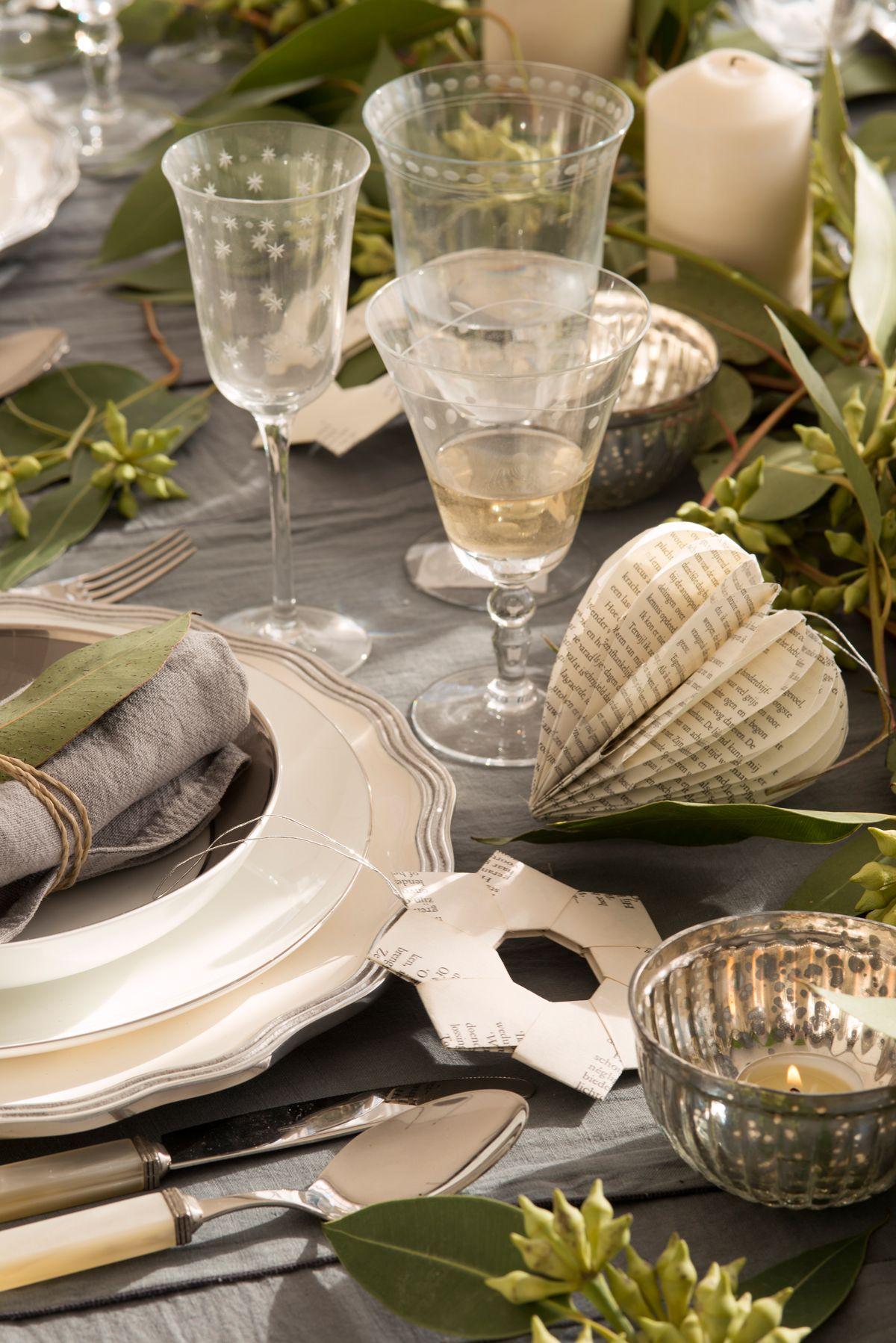 Detalles en amigurumi para decorar la mesa de navidad en grises 00418733 mesas de navidad - Vajillas navidenas ...