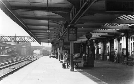 Coventry Station 1952
