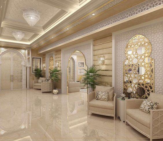 ديكورات فلل وقصور ديكورات جبس فخامة صور ديكورات Modern Home Interior Design Modern Houses Interior House Interior