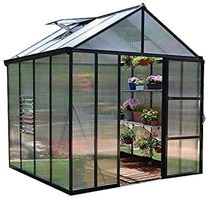 Amazon Com Palram Glory Hobby Greenhouse 8 X 8 400 x 300