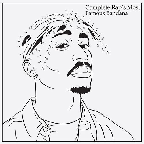The Best Of Rap Coloring Book Tupac