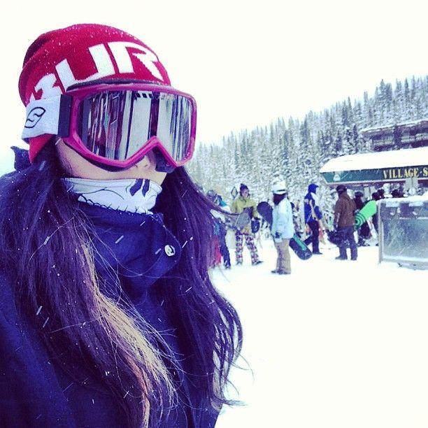 Oh heeeeyyyyyyyyy....... #sunshinevillage #snowboard #snowboarding  #burton - @esthersarahcho- #webstagram
