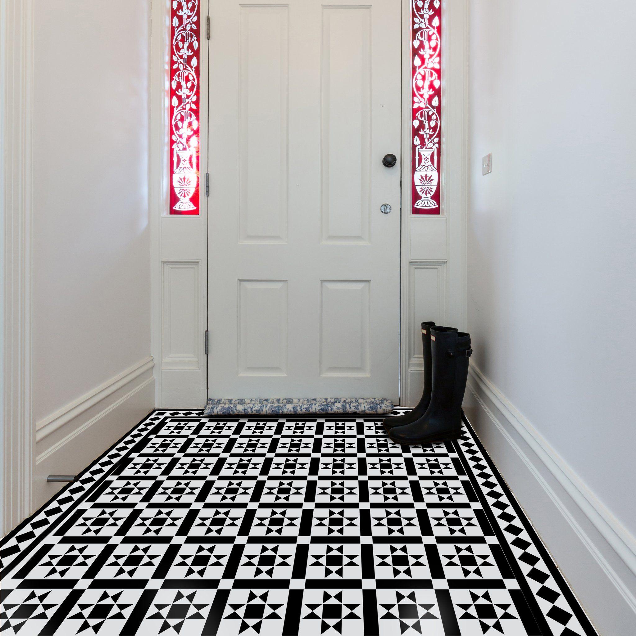 KENSINGTON TILE Stencil Tile stencil, Tile floor diy