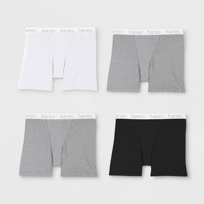 857ea077a11f Hanes Premium Women's 4pk Cotton Long Leg with Comfortsoft Waistband Boxer  Briefs - Color May Vary XL, Assorted