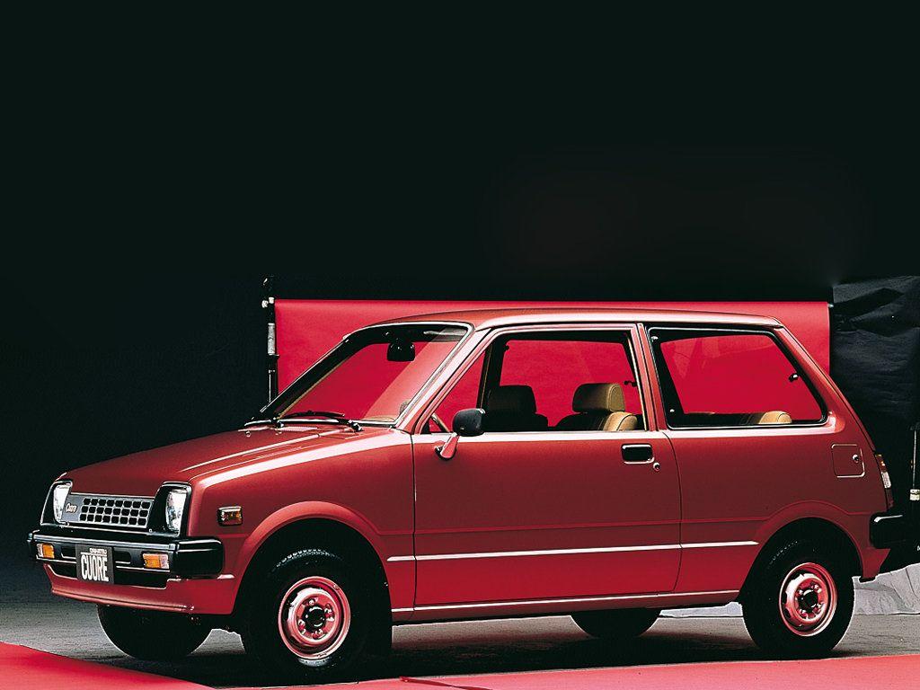 Daihatsu Mira Cuore 3 Door Hatchback Sedan 1980 Daihatsu