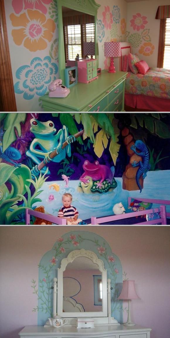 Lisa Kleven is a muralist and decorative painter with over 20 years of experience. She provides mural and faux painting services for nursery, play and kids rooms, and more.