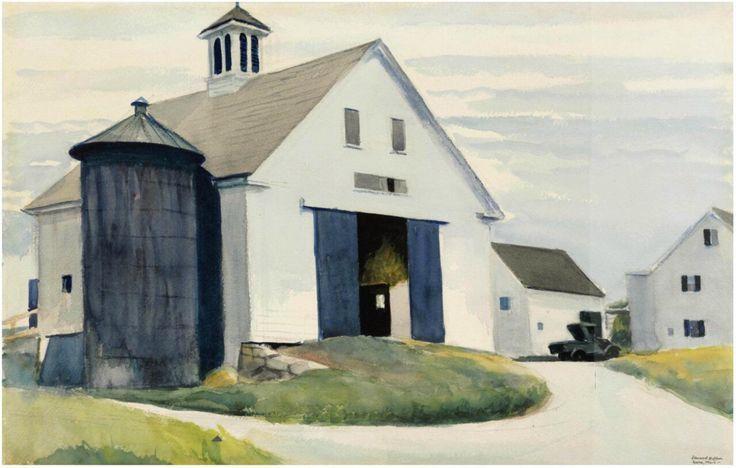 Edward Hopper - Barn at Essex (1929)