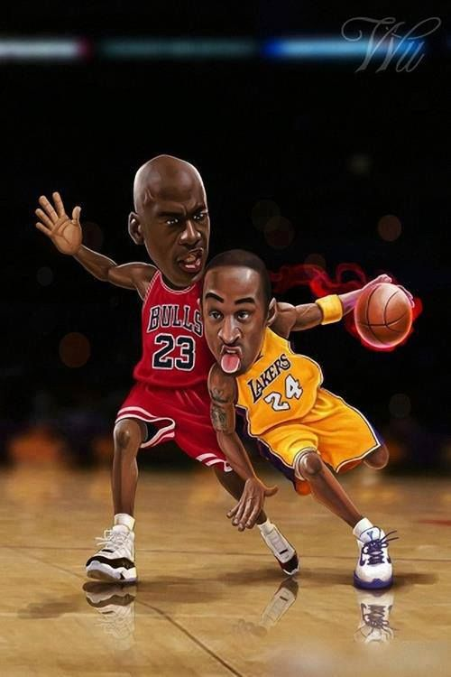 sports shoes 691ee 69875 Kobe Bryant vs. Michael Jordan