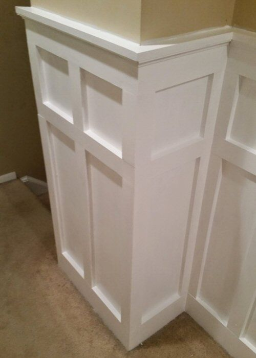 A Step by Step Tutorial On How To Install White Painted