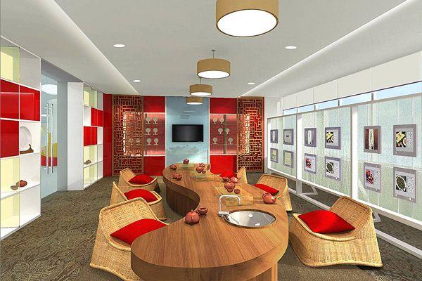 Interior design coca cola headquarters in shanghai for Interior design agency shanghai