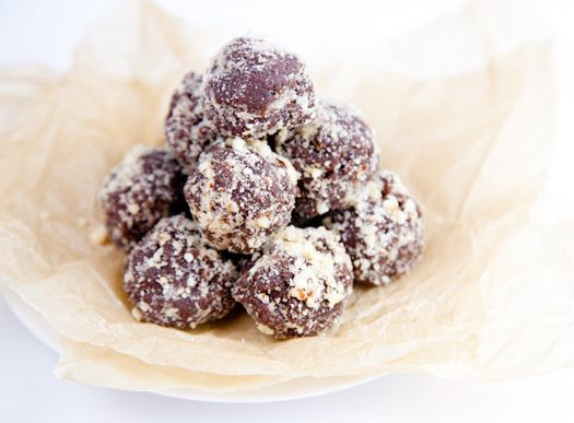 Vegan Nutella Cookie Dough Balls. And they're not even bad for you!