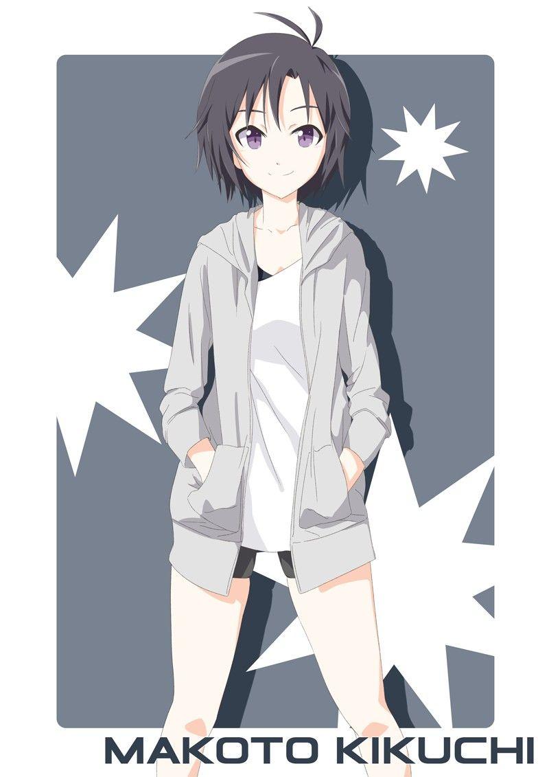Kikuchi Makoto 1115508 Zerochan Personagens De Anime Feminino Personagens De Anime Anime