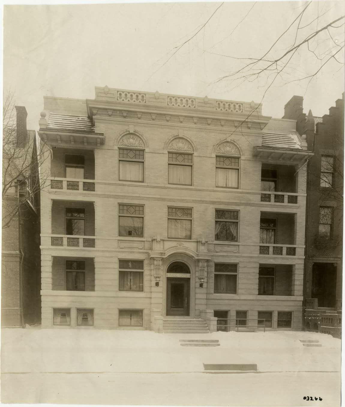 Rall Apartments... Historic Photo, (demolished In 2003/4