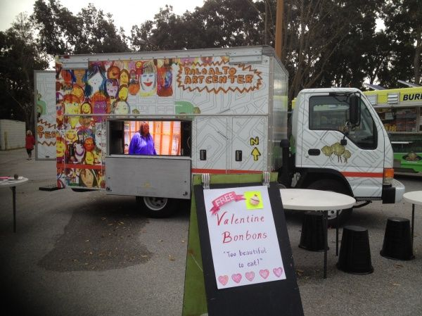 Love That They Are Taking This Art Truck To Food Truck Events Art