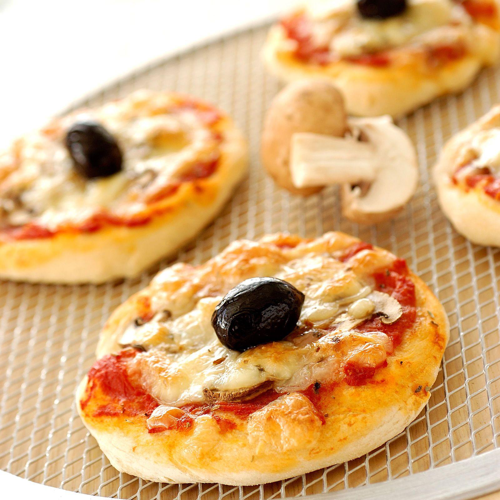 Mini Pizzas Reine