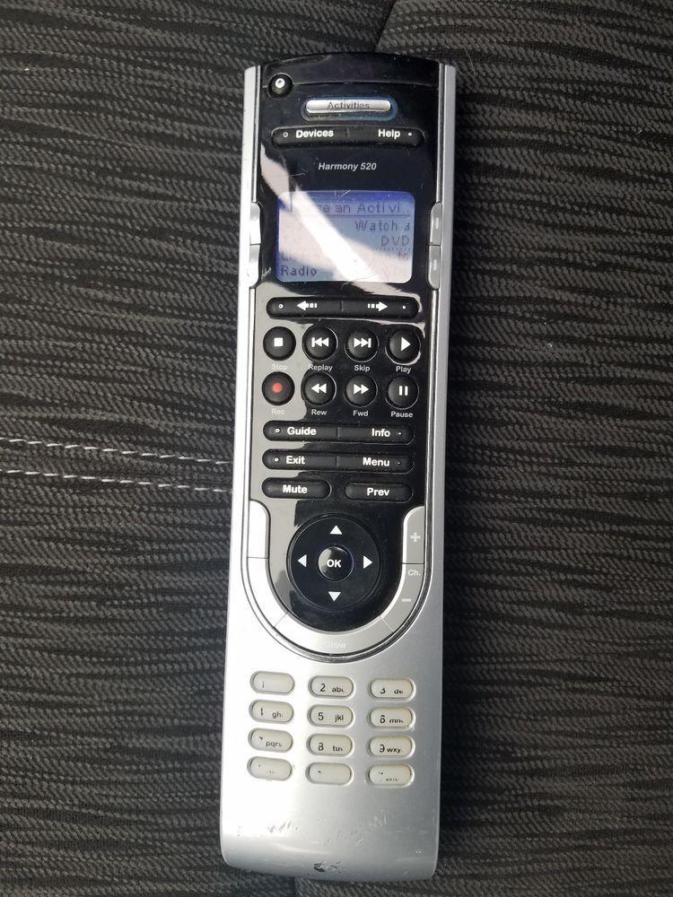 Logitech Harmony 520 Universal Remote Control LCD #Logitech