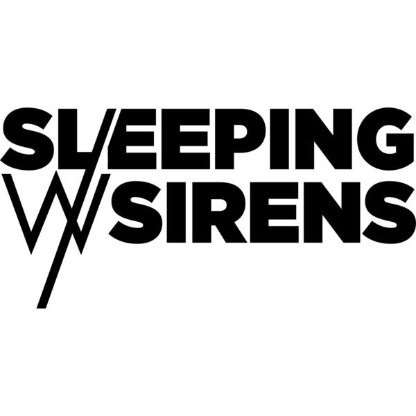 Sleeping With Sirens Logo Liked On Polyvore Featuring Bands