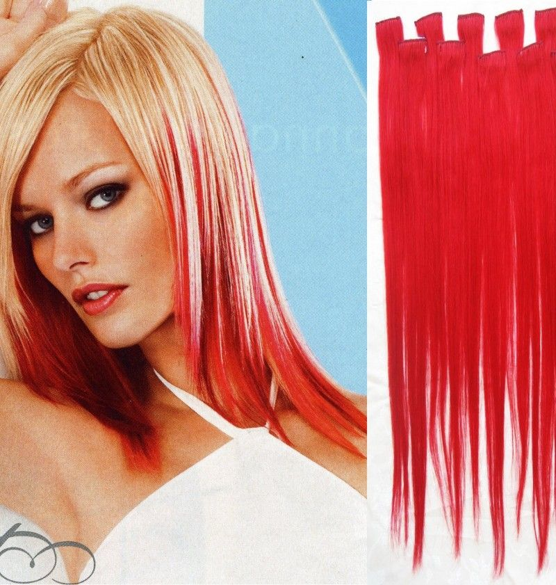 Clip In Hair Extensions Lovely Red Locks Pinterest Blondes