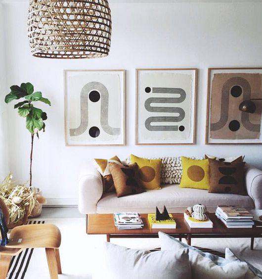 warm vibes, cool spaces Living \/\/ Schöne Wände Pinterest - schone moderne wohnzimmer