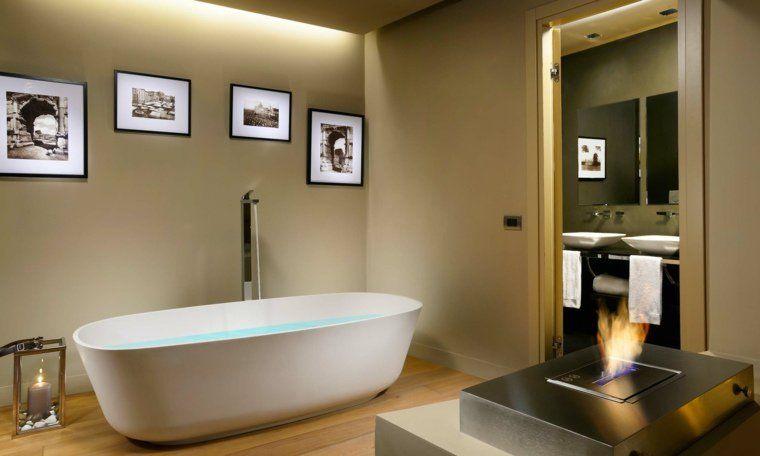 Parquet flottant  conseils et idées pour sol de salle de bain - parquet flottant special salle de bain