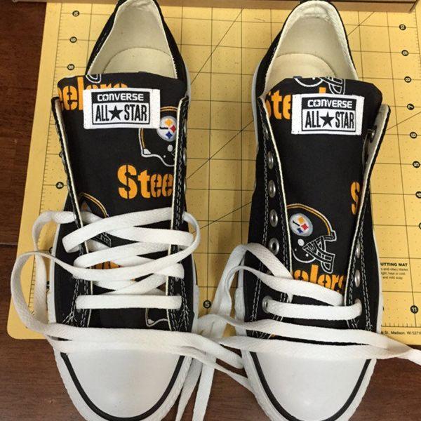 Pittsburgh Steelers Handmade Converse
