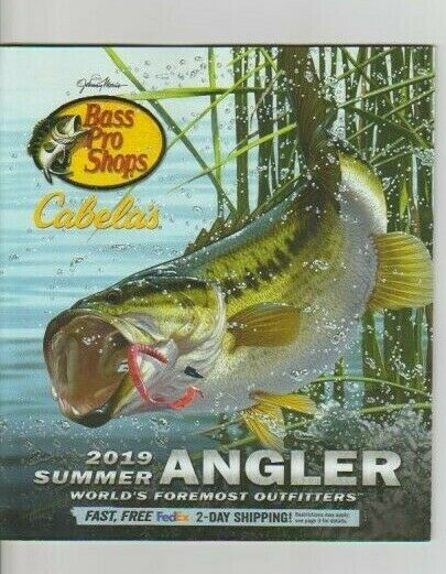 Bass Pro Shops Catalog Magazine 2019 Summer Angler BRAND NEW