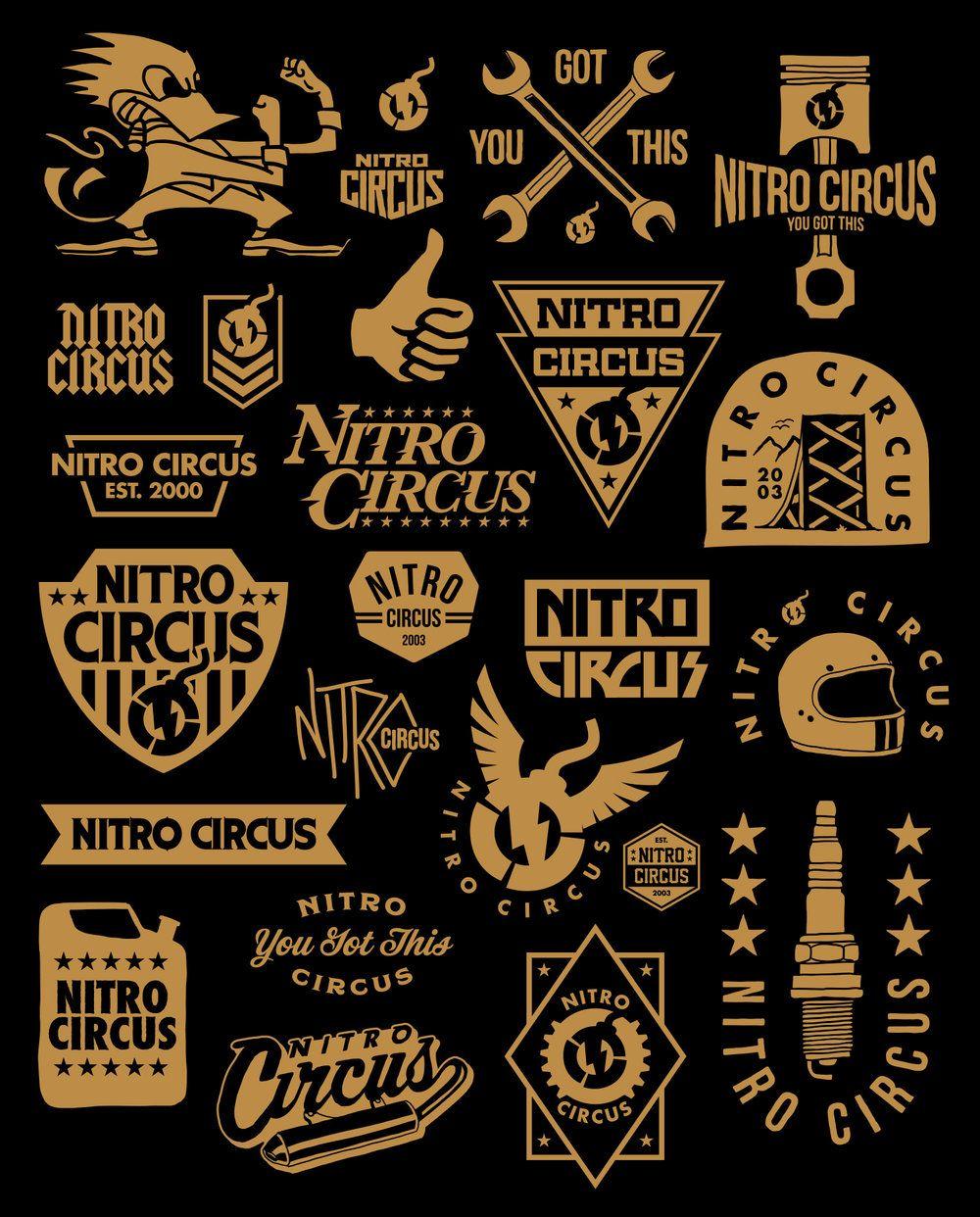 nitro_badge3.jpg Nitro circus, Badge design, Retro logos