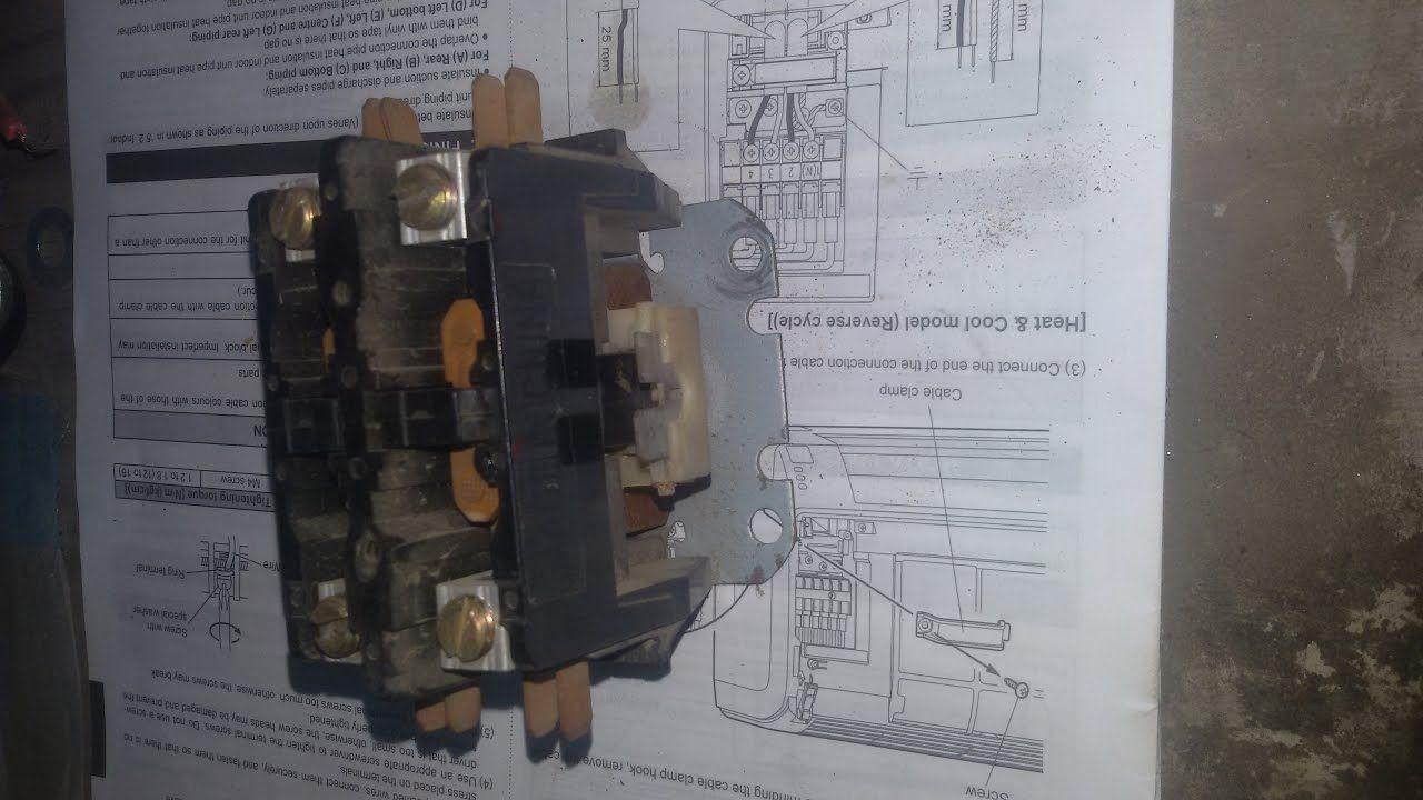 كيف تصلح كونتكتر المكيفات المركزيةhow To Repair Contact Air Conditioner Master Master Chief