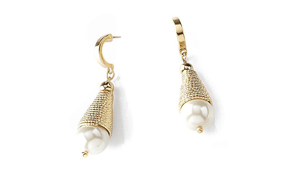 disponibilidad en el reino unido a58c1 d3cda 118031 -Aretes con poste, en baño de oro con perla color ...