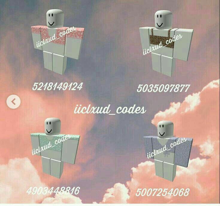 roblox crop top codes