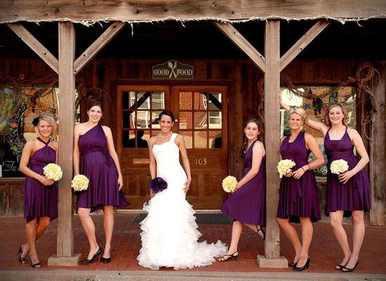 Plum Bridesmaid Dresses Diffe Styles Love