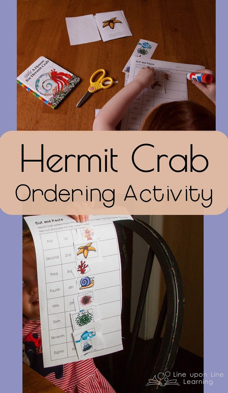 Our Favorite Hermit Crab Preschool Imagination Game | Kind