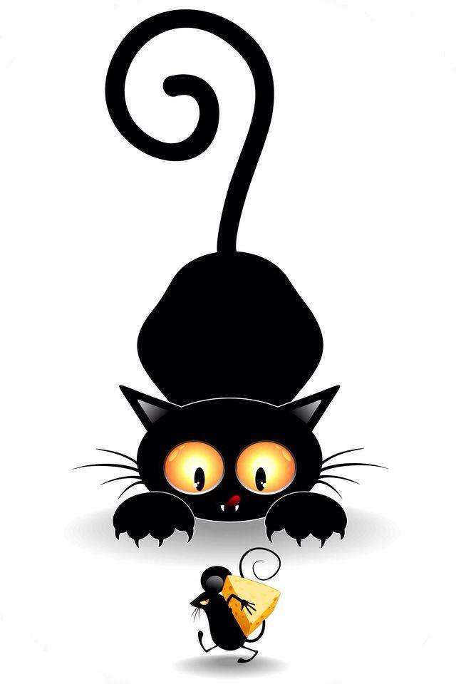 Raton Dibujos De Gatos Arte De Jirafas Arte Con Gatos