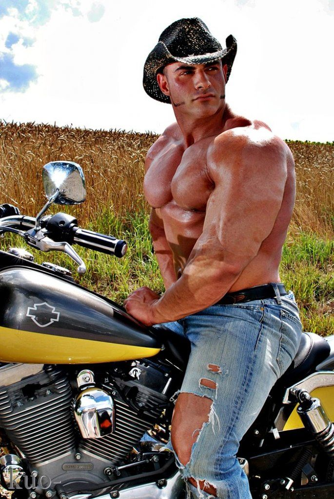 from Callan muscular nude men on motorcycles