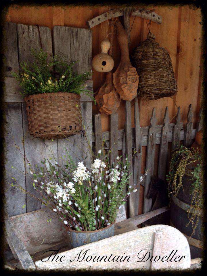 Spring Rustic Amp Primitive Gardens Amp Vignettes